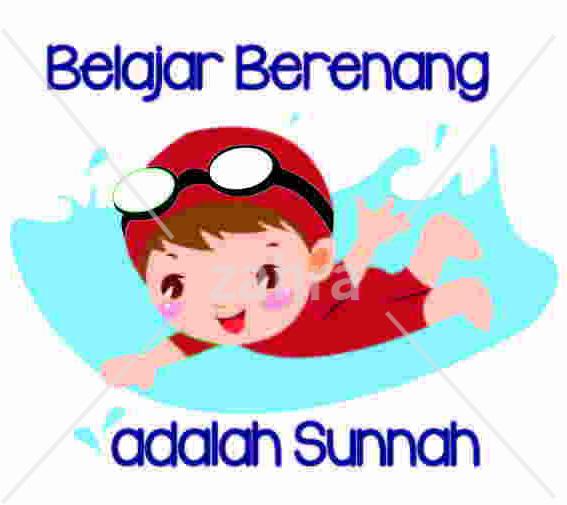 Contoh Desain Kartun Islami Untuk Kaos Anak