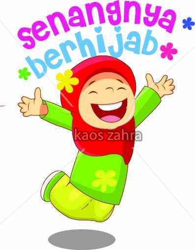 Senangnya Berhijab Belajar Ceria Previous Image Gambar Animasi Hijab