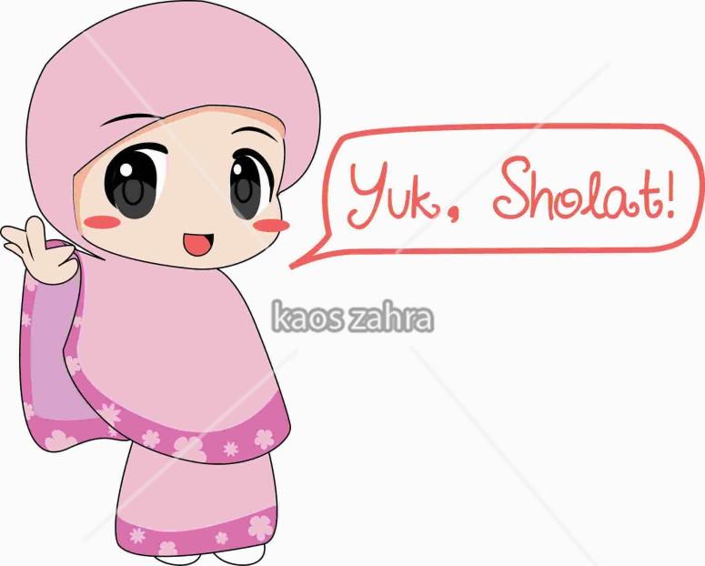 106+ Gambar Kartun Muslim Ceria HD Terbaik